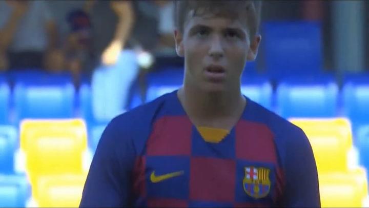 Nico González, el joven talento del Barça B que sigue de cerca Koeman