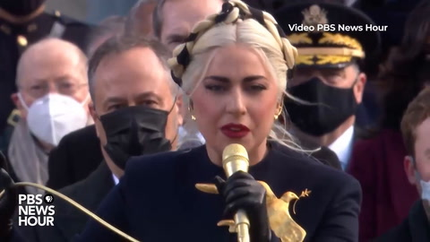 Lady Gaga y JLo cantaron por la nueva era de Joe Biden en EEUU