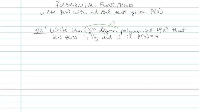 Polynomial Function - Problem 4