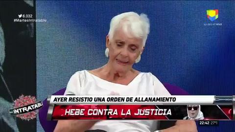 Fernández Meijide: Hebe fue vilmente usada por los Kirchner