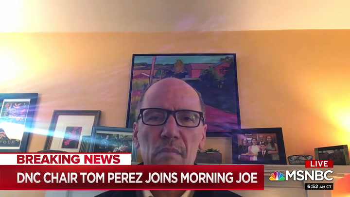 DNC's Perez Shoots Down Potential Voter Fraud on Mail-In Voting: 'No Concerns Whatsoever'