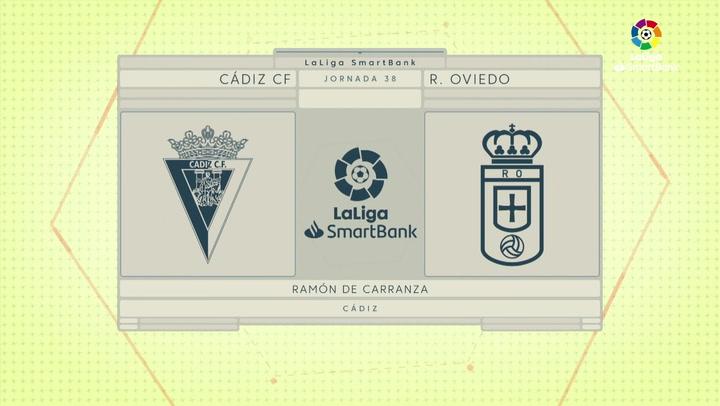 LaLiga SmartBank (J.38): Cádiz 2-0 Oviedo