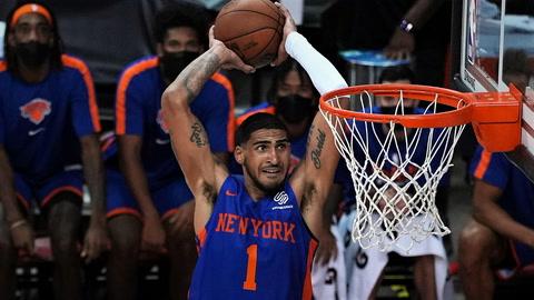 NBA Insider Ian Begley on Knicks' big win in Orlando, play of Obi Toppin