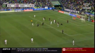 VIDEO: El espectacular gol de Carlos Pineda a Seattle en el Century Link Field