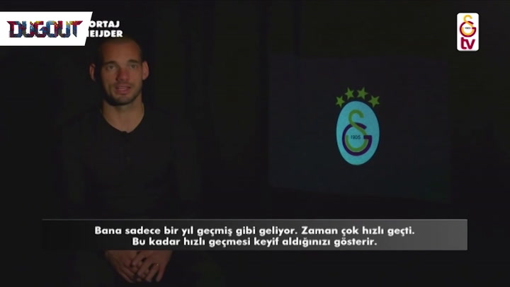Sneijder Enjoying Time Of His Life