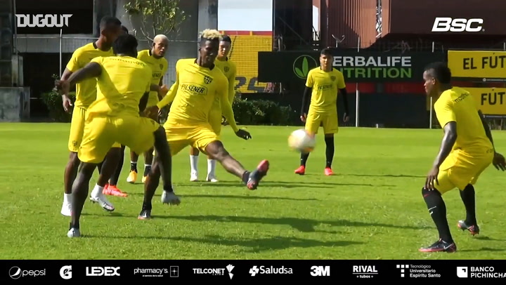 Barcelona SC get ready for their Libertadores game vs Junior