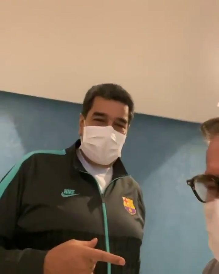 Maduro 'ficha' por el Barça
