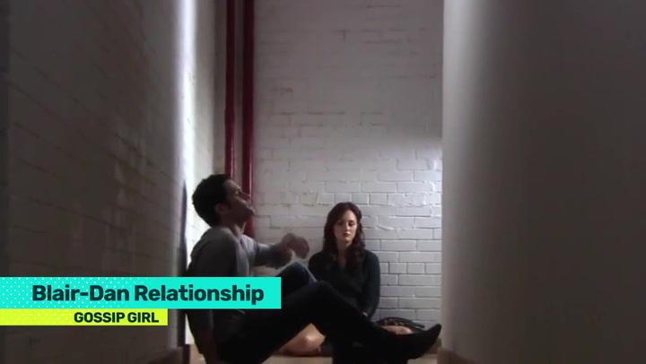 dan and serena dating history