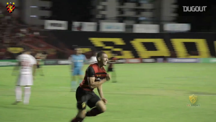 Adryelson scores on his Sport Recife debut in the first division