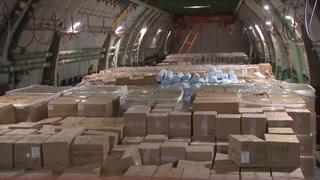 Rusia envía un avión con ayuda humanitaria a EEUU por coronavirus
