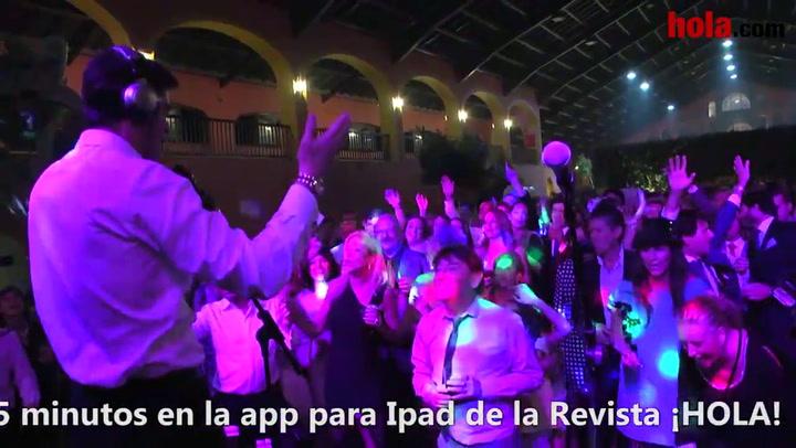 Y tras la boda... llegó la fiesta para Víctor Janeiro y Beatriz Trapote