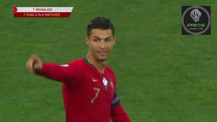 Cristiano Ronaldo consigue su gol 700