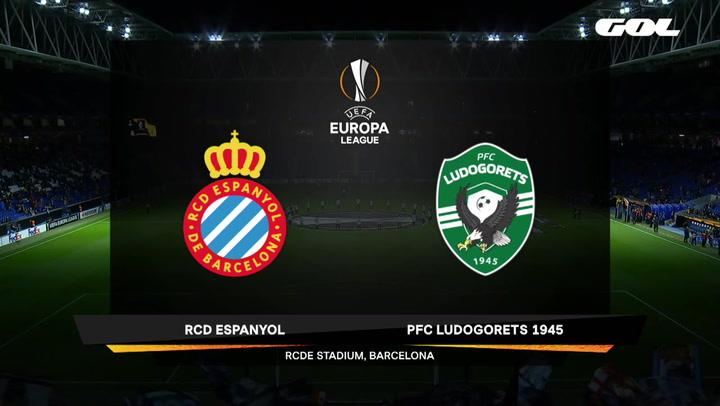 Europa League Resumen y Goles del Espanyol-Ludogorets