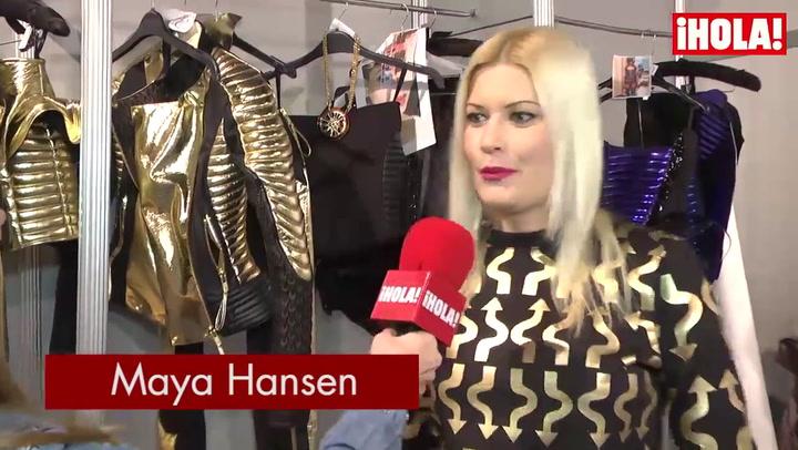 Maya Hansen: \