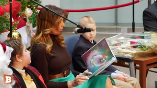 Melania Trump Visits Children's National Hospital