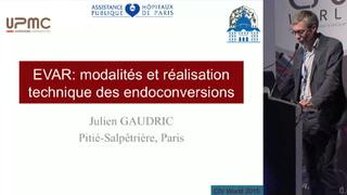 EVAR: modalités et réalisation technique des endoconversions