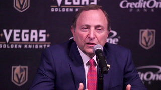 Commissioner Bettman on what it took to bring hockey to Las Vegas, how it's helped fans
