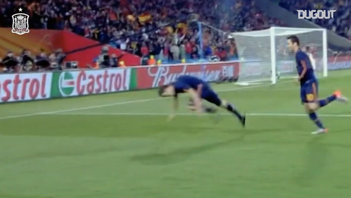 David Villa's best moments playing for Spain
