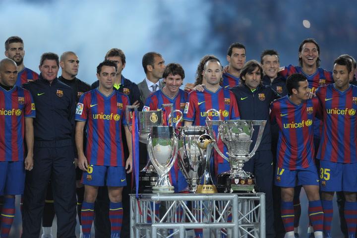 Diez años del sextete del Barça, un hito en la historia del fútbol que nadie lo ha vuelto a repetir