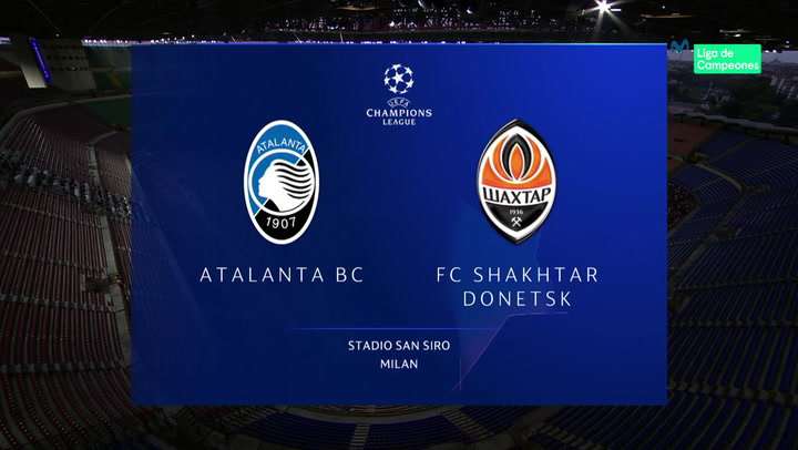 Champions League: Resumen y Goles del Partido Atalanta - Shakhtar Donetsk