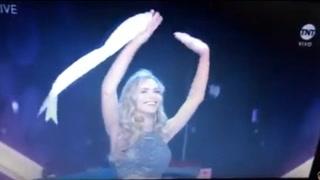 Ovacionan a Miss España mientras se despide del certamen de belleza