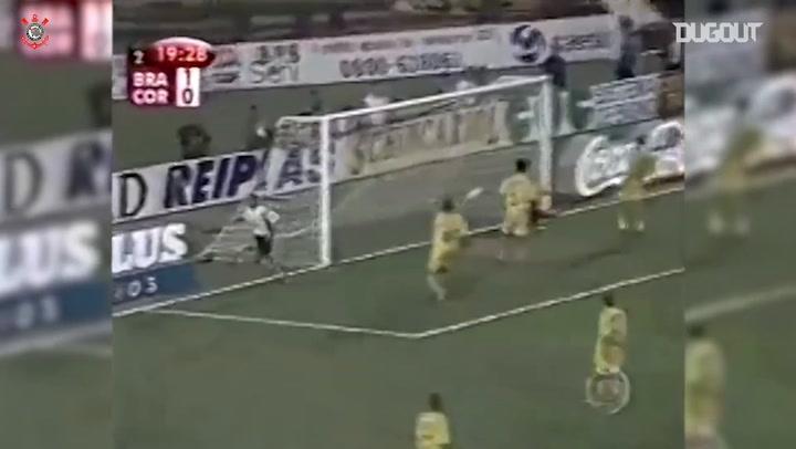 Relembre o título do Corinthians contra o Brasiliense na Copa do Brasil de 2002