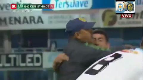 Central tuvo un final a puro festejo ante Atlético Rafaela