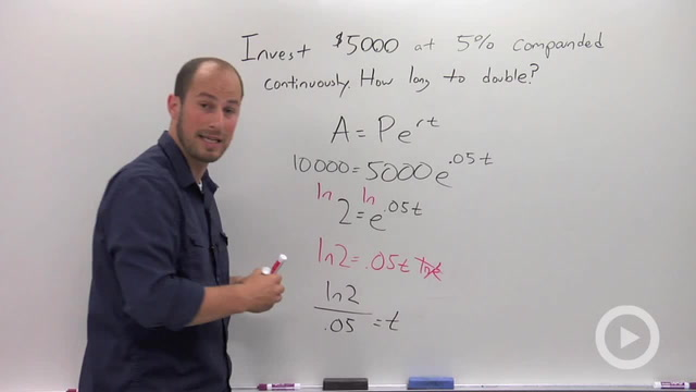 Compound Interest (Continuously) - Problem 2