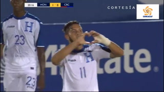 Honduras se pone a ganar ante Costa Rica en Premundial Sub 20