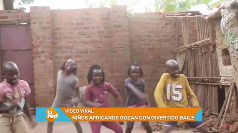 Video viral: Niños gozan bailando danza africana