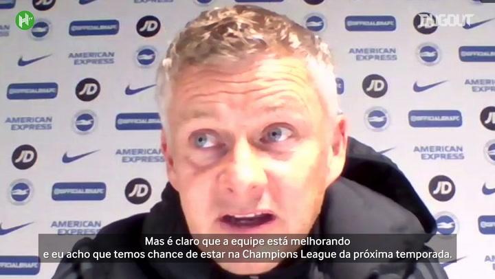 Solskjaer elogia Greenwood e evolução do Manchester United