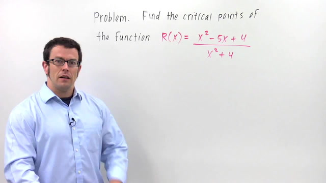 Critical Points - Problem 1