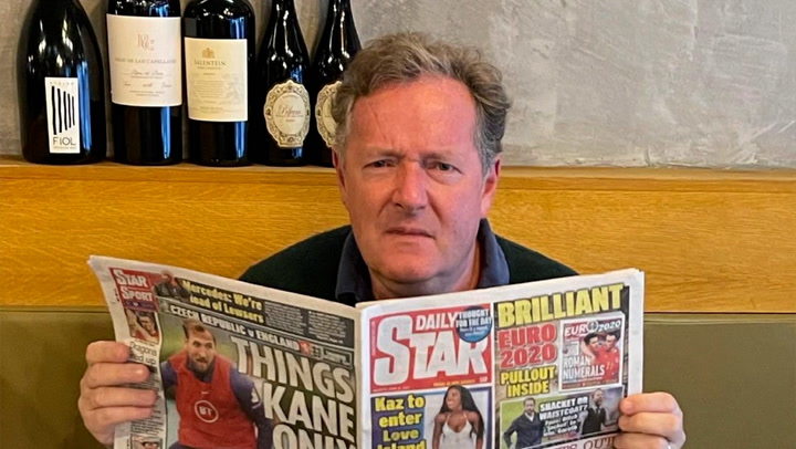 Piers Morgan's bronze medalists slur could end in a fight