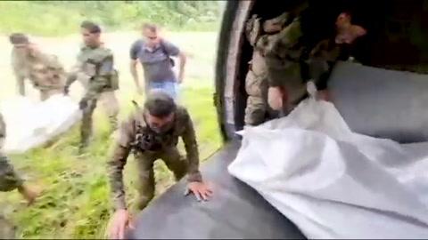 Siete muertos en golpe militar a mayor organización narcotraficante en Colombia