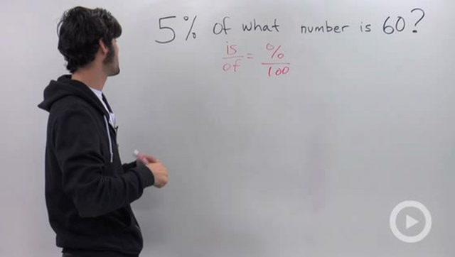 Percents - Problem 3