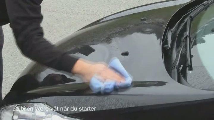 Bilpleie: Hvordan polere bilen på 15 minutter