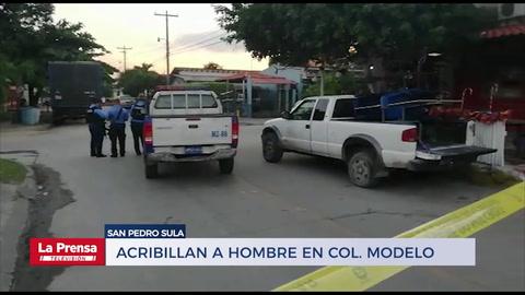 Acribillan a hombre en la colonia Modelo de San Pedro Sula