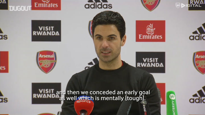 Mikel Arteta overjoyed with 'team performance' over Everton