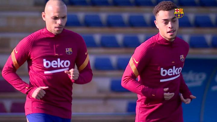 El Barça regresa a los entrenamientos tras la victoria ante la Real Sociedad