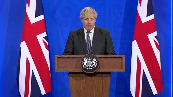 Boris Johnson calls European Super League 'a cartel'