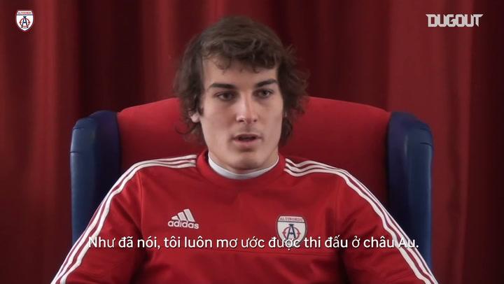 Giấc mơ thi đấu châu Âu của Caglar Soyuncu