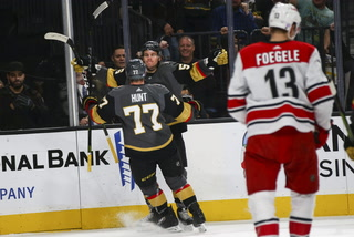 Golden Edge: Knights Shutout the Hurricanes