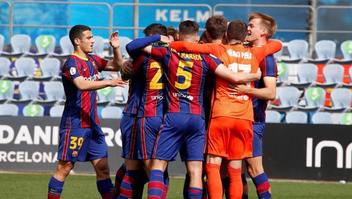 Resumen del derbi de filiales Espanyol B-Barça B
