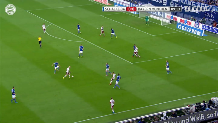 Team Goals: Robert Lewandowski Vs Schalke
