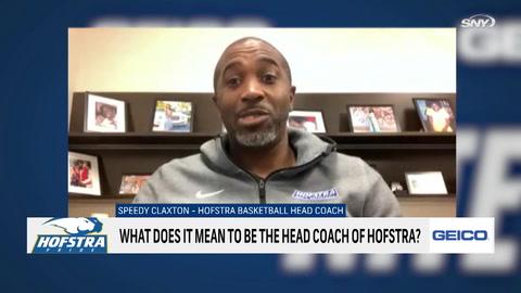 Hofstra basketball head coach Speedy Claxton on first-year expectations, team strengths
