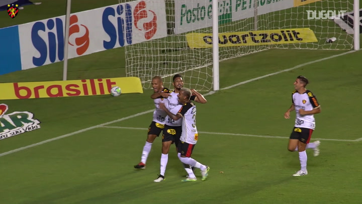 Sport Recife beat Bahia at Pituaçu Stadium
