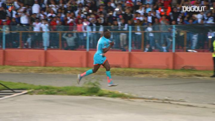 Cristian Martínez's brace vs Deportivo Cuenca
