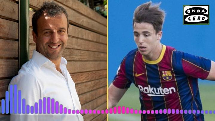 """Fran: """"Nico sueña con triunfar en el Barça"""""""