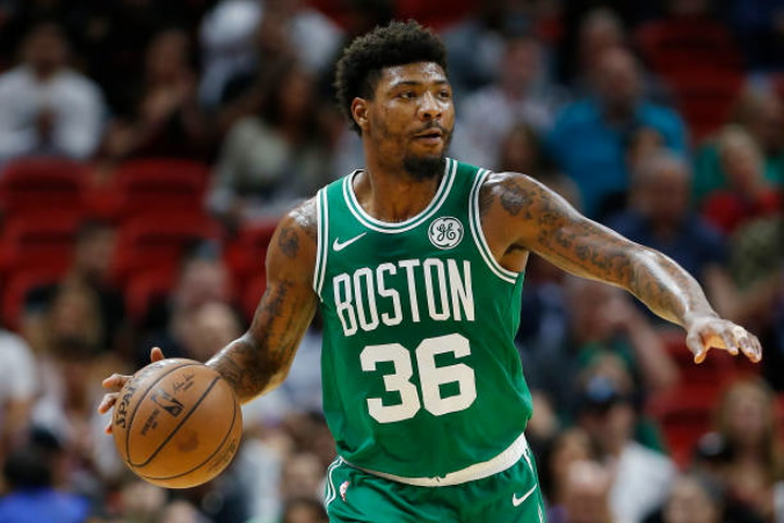 Marcus Smart making steps toward recovery but still in pain