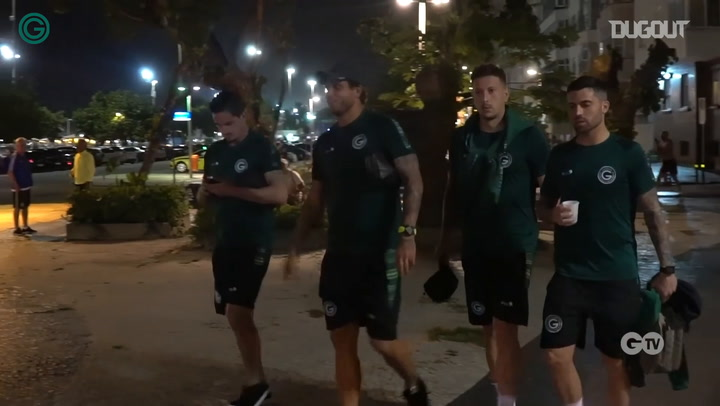 Behind the scenes of Goiás' victory vs Vasco